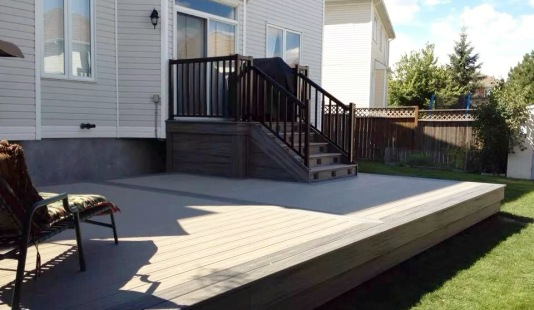 decking and stairs
