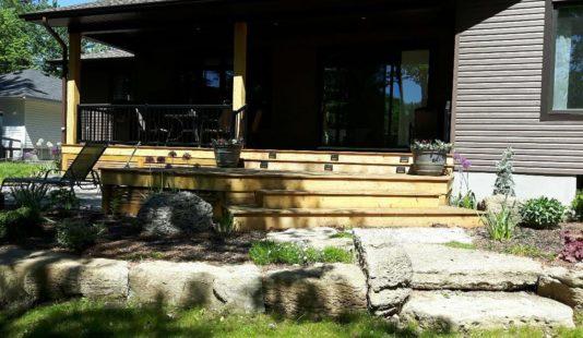 deck carpenter and lansdscaping ottawa